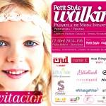 invitacion desfile petit style walking