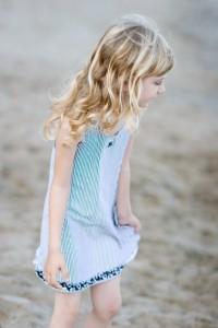 vestido-playero-niña-azul