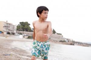 Bermuda estampado niño