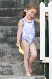 bañador hawai niña